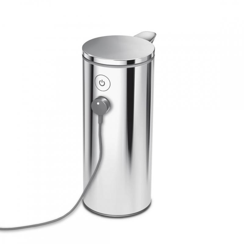 Simplehuman ST1044 automatisk tvålpump med uppladningsbart batteri