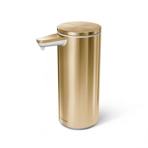 Simplehuman ST1055 automatisk tvålpump mässing, rostfritt stål