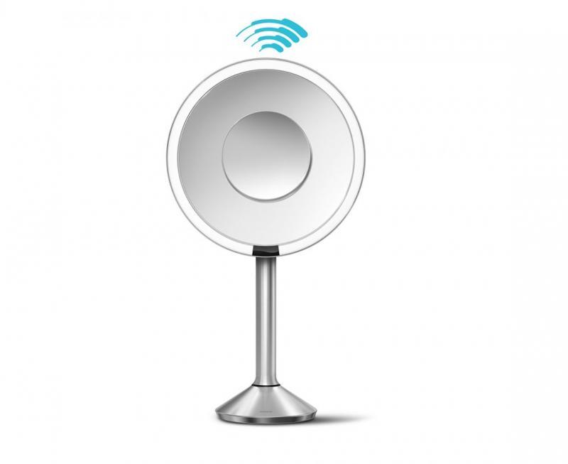 Simplehuman ST3007 Sensor mirror-pro 5 x + 10 x förstoring, borstat stål