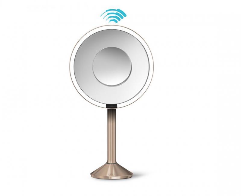 Simplehuman ST3011 Sensor-mirror Pro 5x och 10 x förstoring  Rosen guld