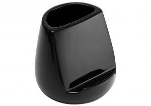 Hållare för köksredskap och surfplatta, glossy svart