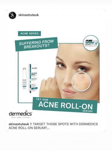 Acne roll on - Anti-Acne serum Dermedics för slutkund