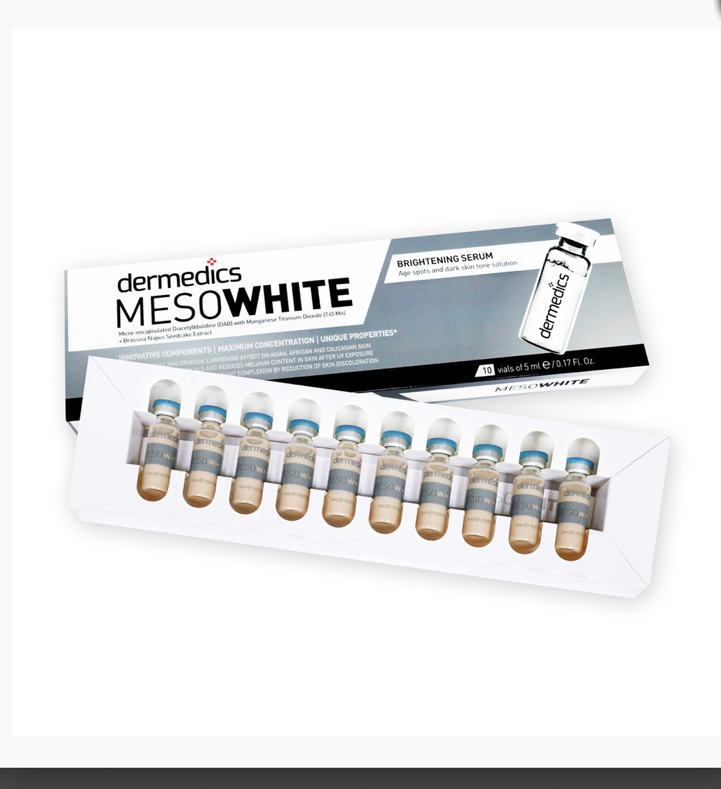"MESOWHITE ""BB Glow"" serum 10 pack/ förpackning"