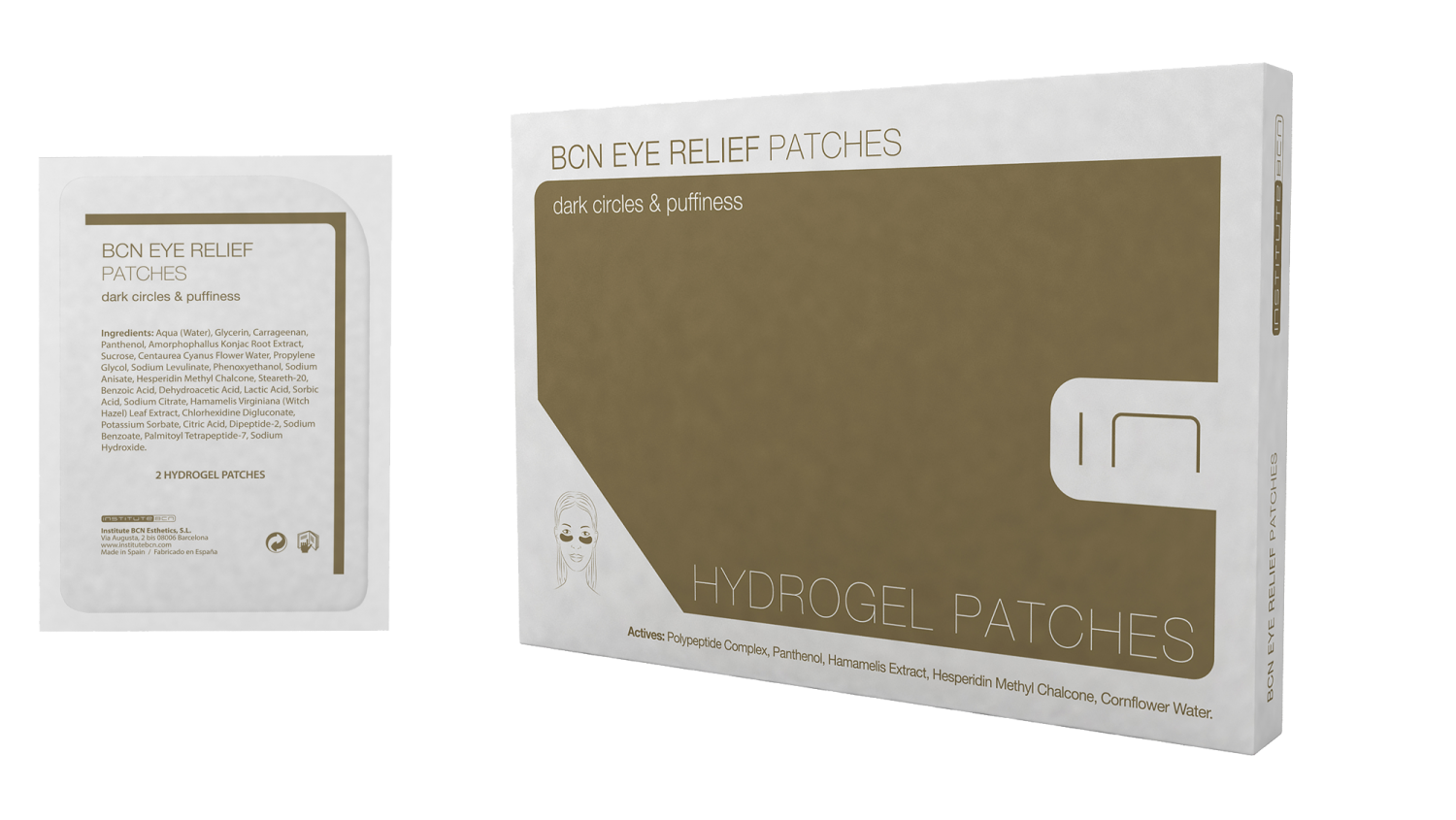 BCN Eye Relief patches 8st
