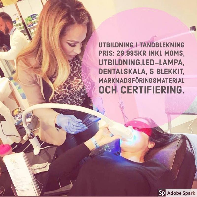 Certifierad Tandblekare