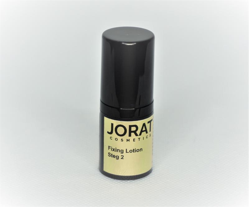 Jorat Cosmetics Lashlift Fixing Lotion, Steg 2