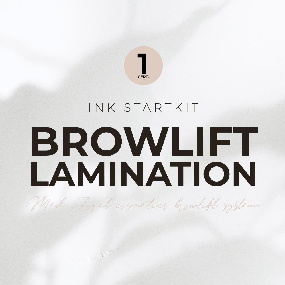 Browlift/Brow lamination 1 certifikat, med Jorat Cosmetics Browlift System