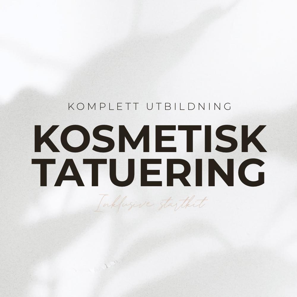 Komplett utbildning i kosmetisk tatuering