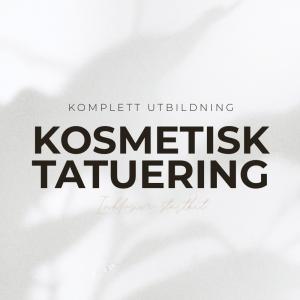 Kosmetisk Tatuering Utbildning - 5 utbildningar i 1 - Inkl Startkit - Utbildningspaket