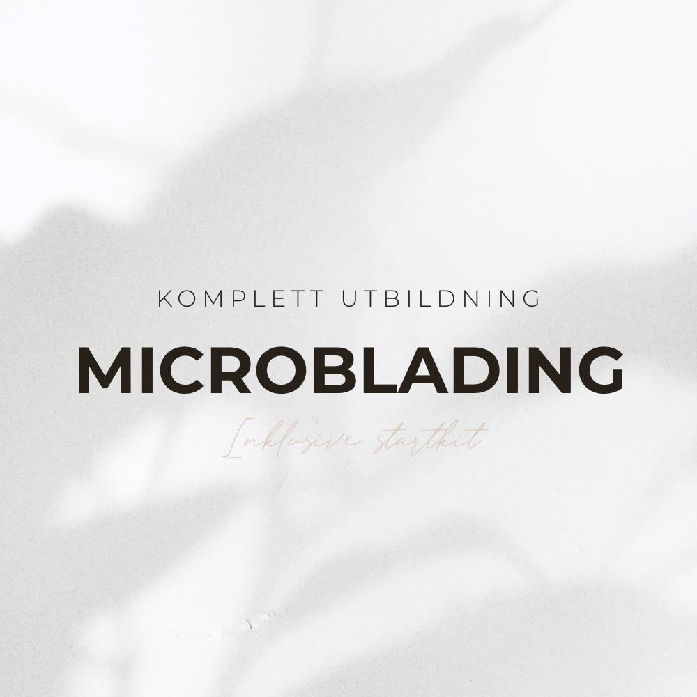 Komplett utbildning i microblading + ombré