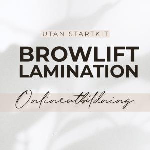 Browlift Utbildning Online - Exkl Startkit