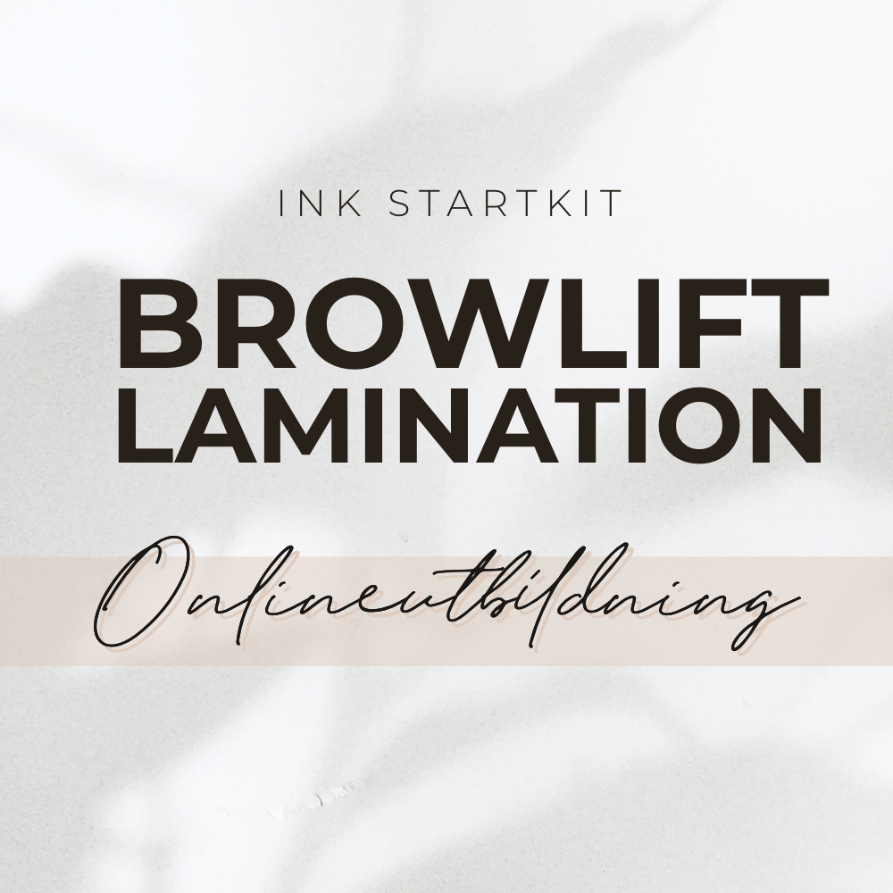 Browlift onlinekurs ink startkit