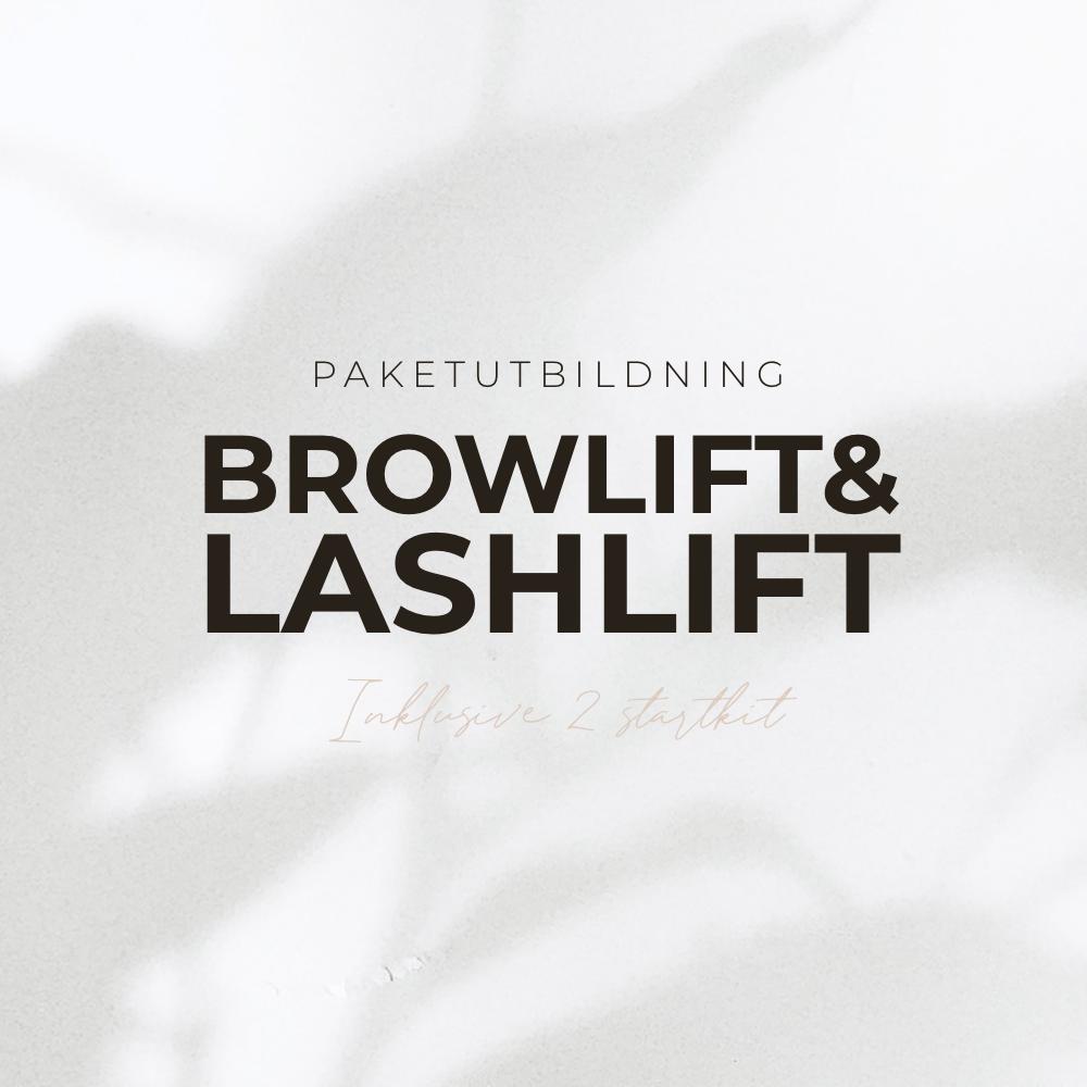 Lash & Browlift Lamination Utbildning - Inkl 2 Startkit - Jorat Cosmetics Lift System