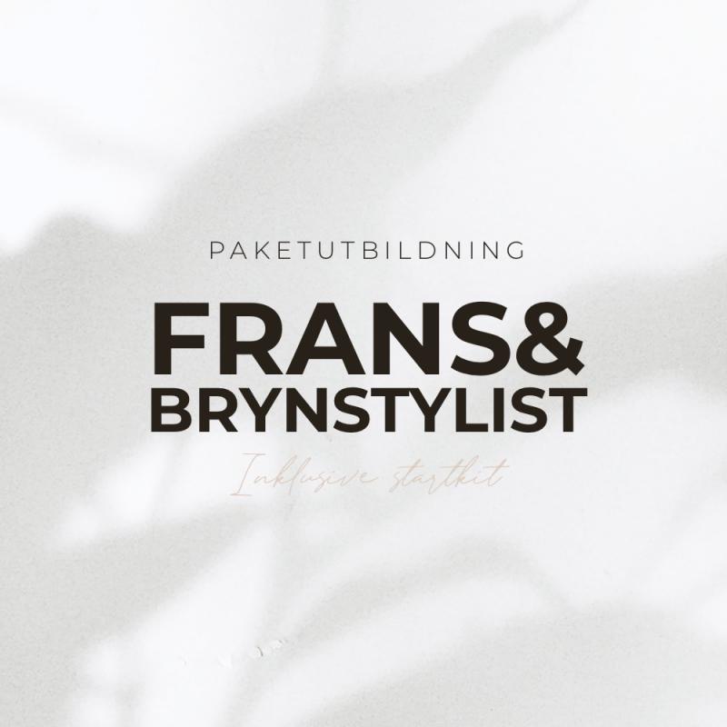 Paketutbildning - Frans & Brynstylist