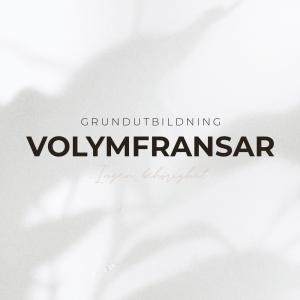 Volymfransar Utbildning - Grundutbildning - Inkl Startkit
