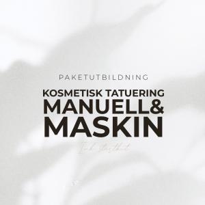 Kosmetisk Tatuering Utbildning - Manuell & Maskin - Inkl Startkit - Paketutbildning