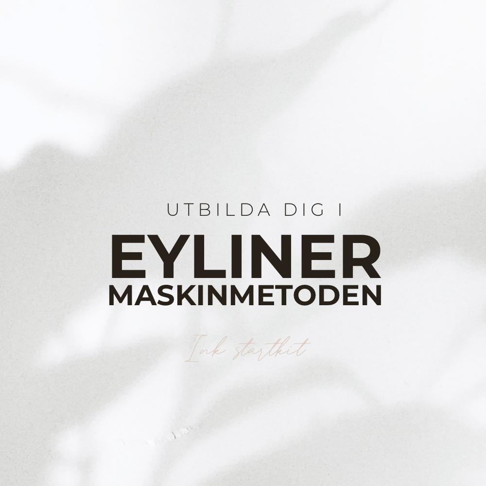 Eyeliner Utbildning - Maskinmetod - Inkl Startkit