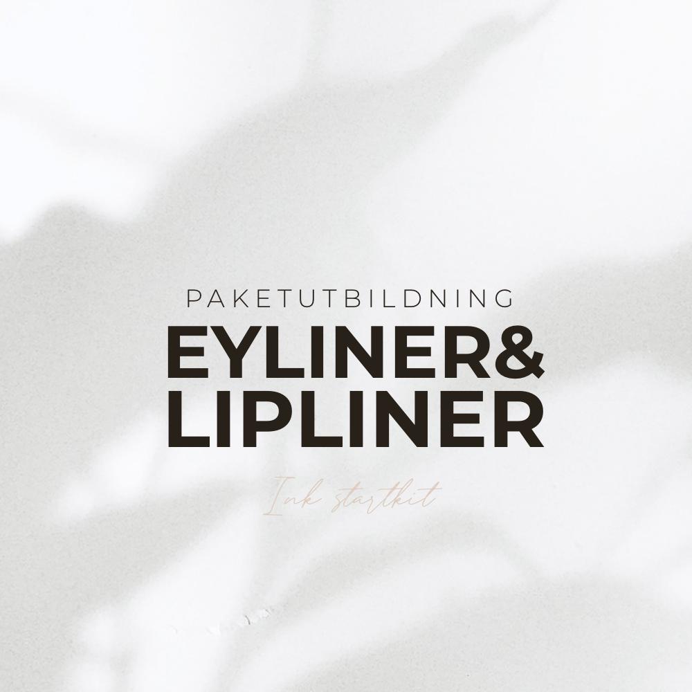 Paketutbildning - eyeliner & lipliner