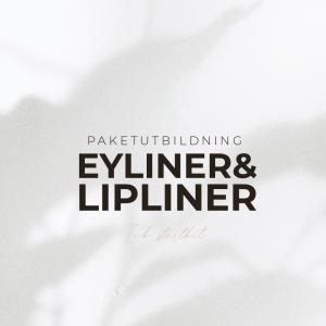 Eyeliner & Lipliner Utbildning - Inkl Startkit - Paketutbildning