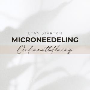 Microneedling Utbildning Online - Exkl Startkit