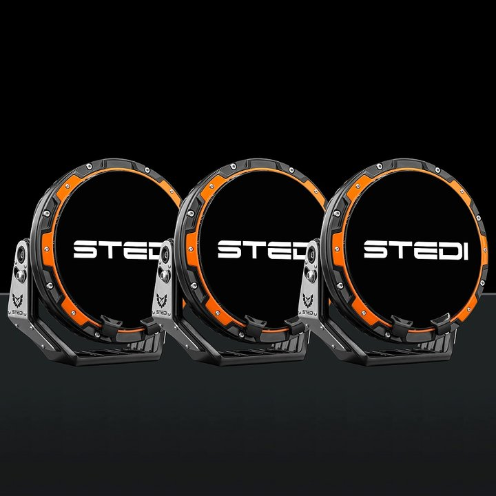 STEDI Type-X PRO LED Extraljus 3Pack