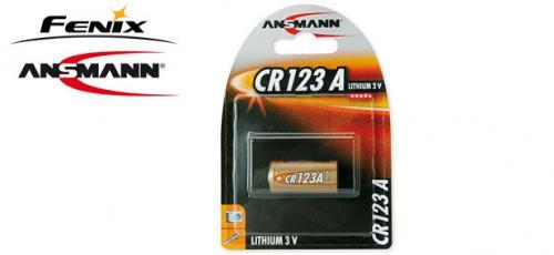 CR123A Batteri Fenix 3V,