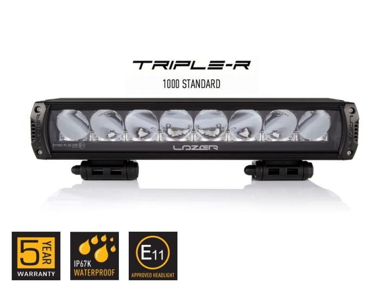 Lazer Triple-R 1000 E-Boost (Svart)