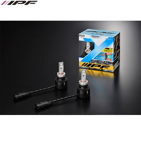 IPF HB3 / HB4 LED 20W LED konverteringskit 6500K 12V