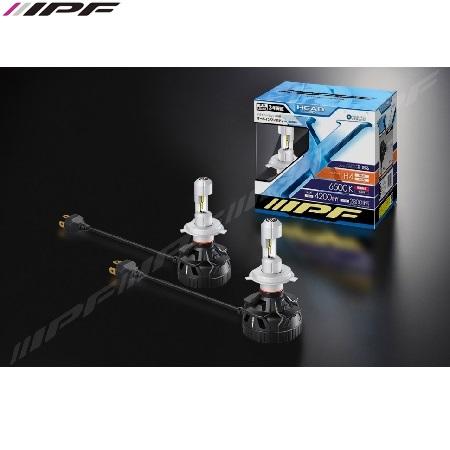 IPF H4 LED 6500K 24W LED konverteringskit 12V