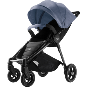 Britax B-Motion 4 Plus Komplett Blue Denim