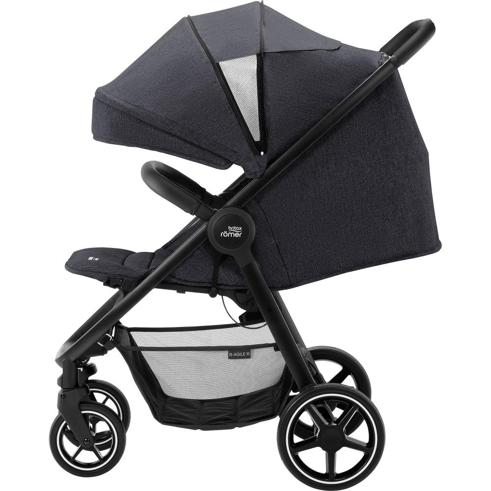 Britax B-Agile R Black Shadow Black Handle