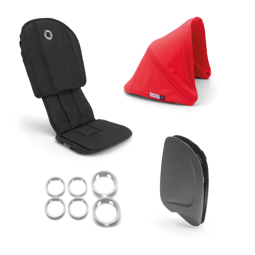 Bugaboo Ant Style Set Neon Red