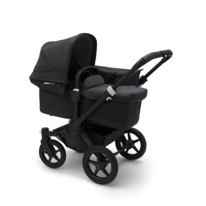 Bugaboo Donkey³ Mono Mineral Collection Black Washed Black