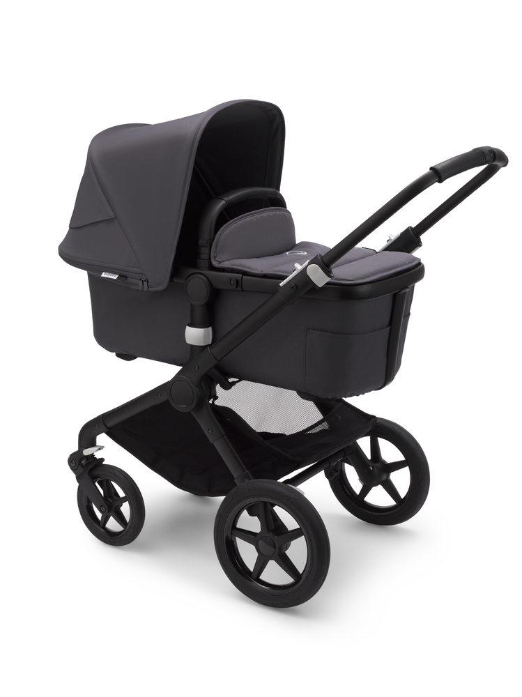 Bugaboo Fox 2 Black Bas Steel Blue