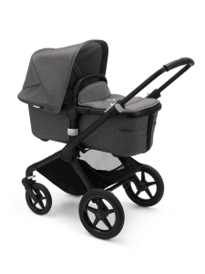 Bugaboo Fox 2 Black Bas Grey Melange