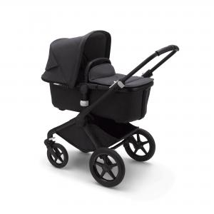 Bugaboo Fox 2 Black Washed Black Barnvagn   Mineral Collection