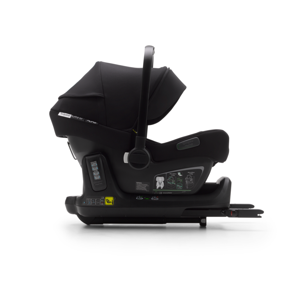 Bugaboo Turtle Air Black + Isofix Wingbase