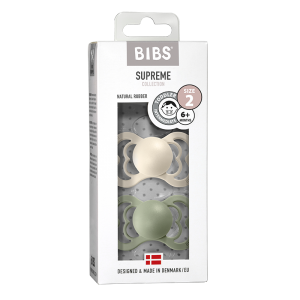 Bibs Supreme Latex Ivory & Sage 6+