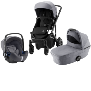 Britax Smile lll Duovagn + Baby Safe² i-Size Frost Grey Black