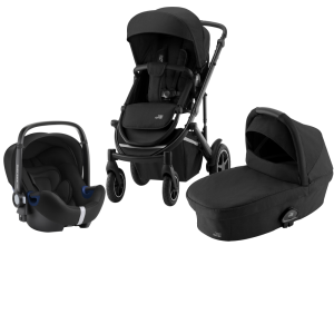 Britax Smile III Duovagn + Baby Safe² i-Size Space Black