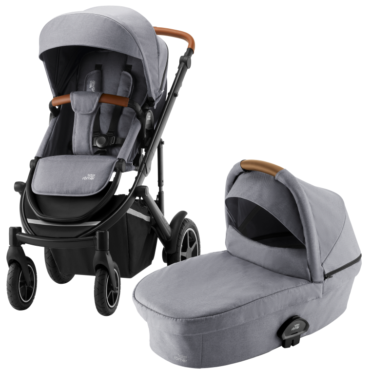 Britax Smile III Barnvagn Frost Grey Brown