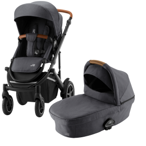 Britax Smile lll Barnvagn Midnight grey
