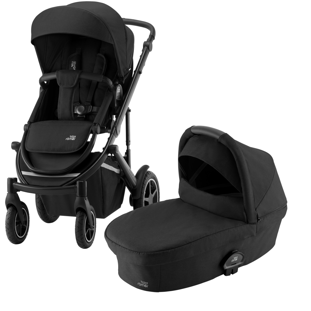Britax Smile III Barnvagn Space Black