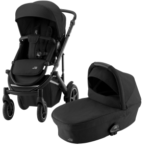 Britax Smile lll Barnvagn Space Black