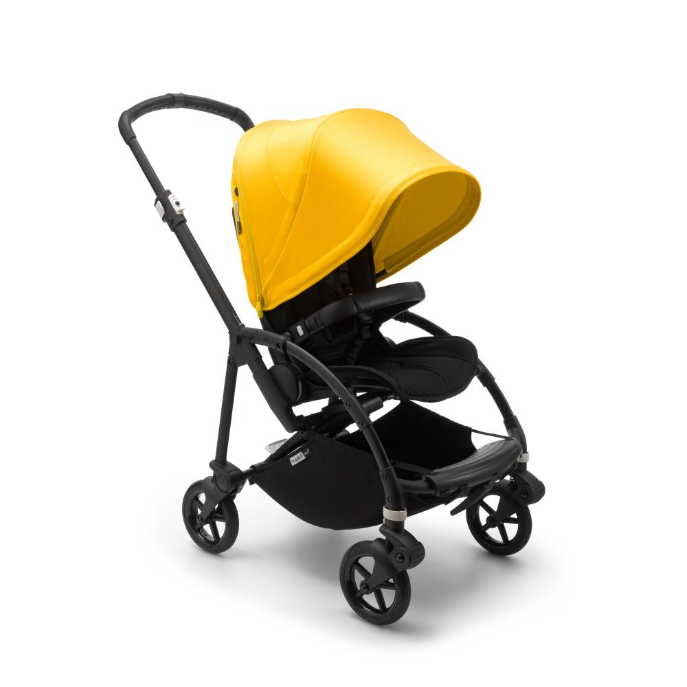Bugaboo Bee 6 Black Lemon Yellow Komplett