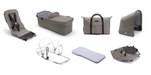 Bugaboo Donkey 2 Style set Mineral Collection Taupe