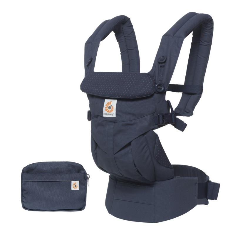 Ergobaby Omni 360 Navy Mini Dots