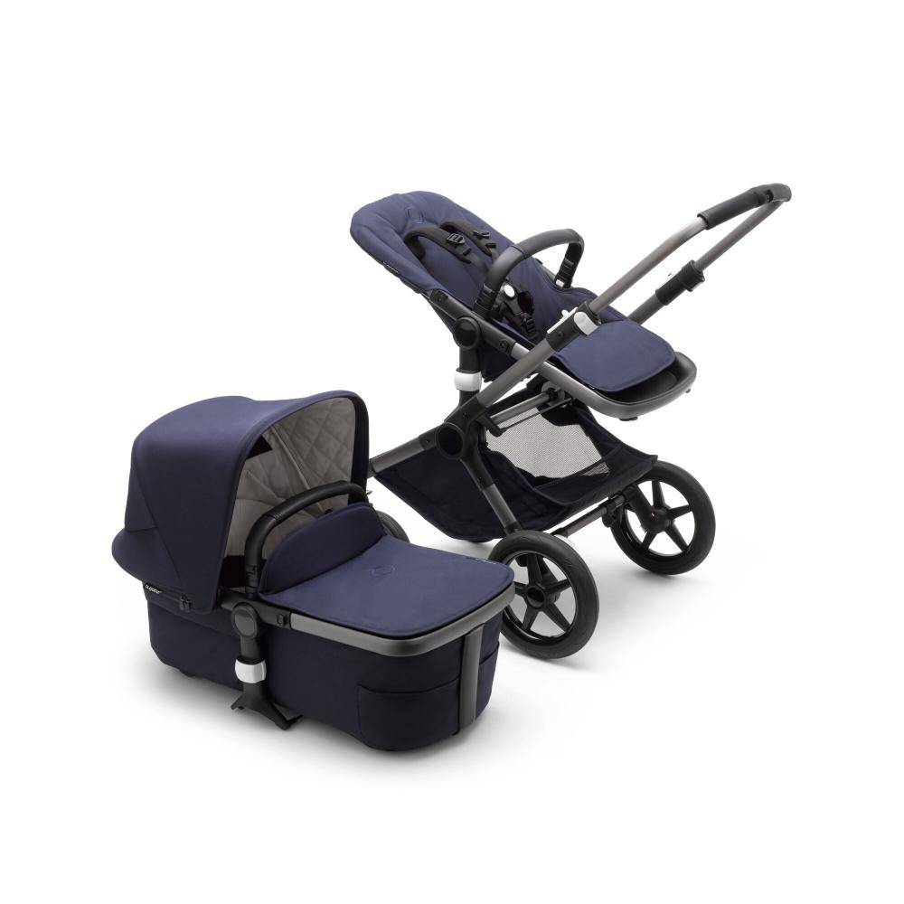 Bugaboo Fox 3 Classic Collection Navy Graphite Chassi
