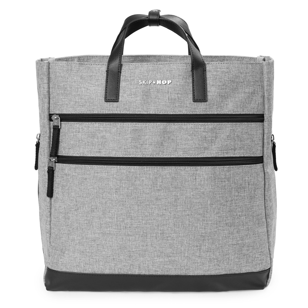 Skip Hop Trio Convertible Backpack Heather Grey