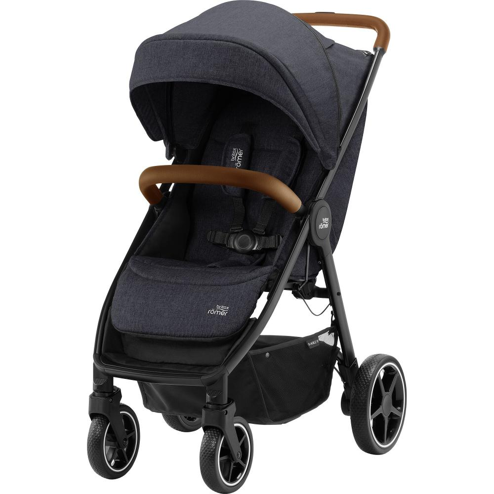 Britax B-Agile R Black Shadow Brown Handle